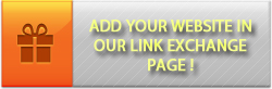 Webmasters get free backlinks by adding your website in our link exchange page !